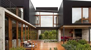 wonderful modern architecture of home ideas with rustic touch