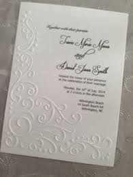 embossed wedding invitations embossed wedding invitations with beautiful and best design ideas