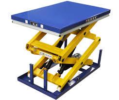 Pallet Lift Table by 1 4 Tonne Scissor Lift Tables Optimum Handling Solutions