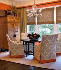 dining room chair covers with traditional tan dining room decor