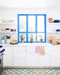 Green And Blue Kitchen Best 25 Blue Kitchen Tile Inspiration Ideas On Pinterest Blue