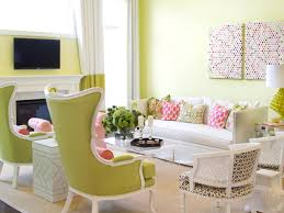 Pink Living Room by Pink And Green Living Room Beautiful Pink Decoration