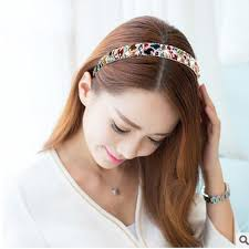 rhinestone headband luxury colorful korean hair accessories hair bands
