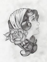 gypsy tattoo u2013 white rose sketch tattooshunter com