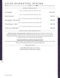 Sample Resume Of Project Manager by Resume Samples For Sales And Marketing Jobs