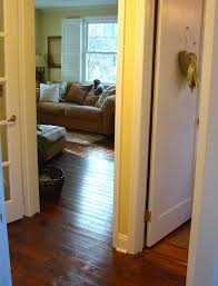 Laminate Flooring In Doorways Custom Comforts Project 1 Refinishing Doors U0026 New Trim