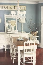hawaii painted dining table room shabby chic style with console