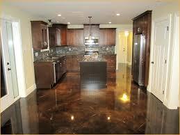 diy kitchen floor ideas diy stained concrete kitchen floor diy cbellandkellarteam