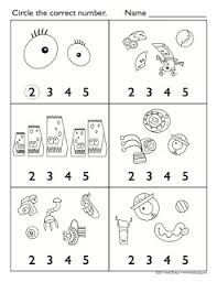 christmas counting worksheet pre k math counting lessons free math