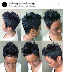 short hairstyles for black women spiked on top small curls in back and sides of hair angles angles angles http gurlrandomizer tumblr com post