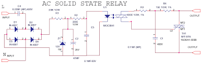 schematics of delabs ac ac ssr solid state relay