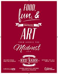 red barn arts festival visit kirksville