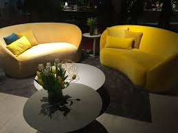 Yellow Leather Sofa Living Room Large Living Room With Vibrant Sofa Also Gray Sofa