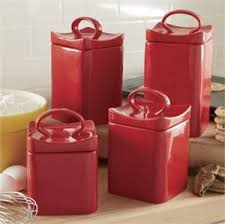 pink kitchen canisters kitchen canister sets in color homesfeed