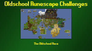 Oldschool Runescape World Map by Osrs Challenges The Oldschool Race Episode 25 Youtube