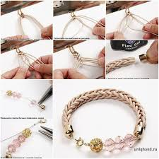 diy simple bracelet images Diy cute interwoven cord bracelet fab art diy jpg