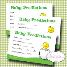 baby shower games free printable worksheets chainimage