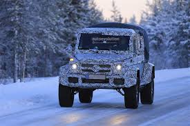 mercedes g500 pickup is this the mercedes amg g63 4x4 pickup truck playing in the snow