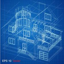 free architectural plans urban blueprint vector architectural background part of