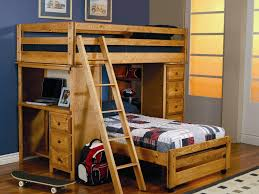 Bunk Beds With Storage Drawers by Kids Beds L Shaped Bunk Bed For Twind With Desk And Drawers