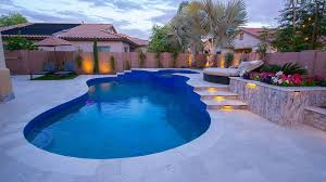 Swimming Pool Backyard by Custom Swimming Pool Decks With Natural Stone And Tiles