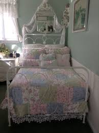 Shabby Chic Sheets Target by My Shabby Chic Quilt Just Purchased At Target Iron Beds