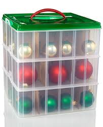snapware 12x12 ornament keeper 3 layer for the