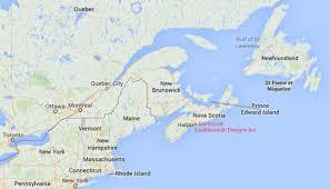 East Coast United States Map by Map East Coast Canada Allotherplacesorg East Coast Usa Wall Map