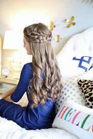 homecoming hair braids instructions southern curls pearls easy crown braid tutorial hair