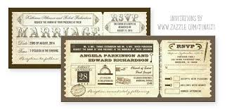 chic vintage wedding tickets u2013 wedding invitations u2013 need wedding