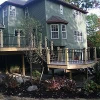 deck railings gasparini fence company syracuse ny