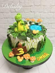 dinosaur cake dinosaur cake cake by zahraa cakesdecor
