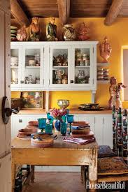 rustic pine kitchen cabinets decorating mexican style a small space mexican style kitchen