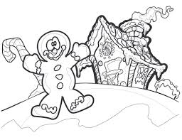 20 gingerbread man coloring pages coloringstar
