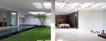House Design Inside Garden Interior Courtyard Garden Home