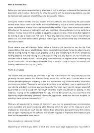 Hostess Sample Resume by 8 Sample Resume Waitress Job Description Samplebusinessresume