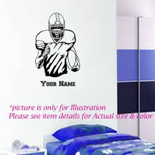 wall art stickers coffee wall stickers pics photos without coffee rugby player vinyl wall stickers american football wall art name wall decal for kids room