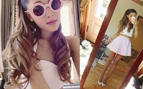 Ariana Grande Costume Halloween Ariana Grande U0026 Big Sean Kiss Halloween Horror Nights Mtv Uk