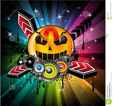 halloween photo backgrounds halloween rainbow disco music background stock photos image