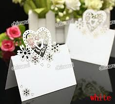 lace heart invitation place paper card table Decoration Wedding Party Event Decors festival favor laser cutting AliExpress com