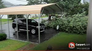 certified one car carport 16 u0027 wide x 21 u0027 long x 8 u0027 high