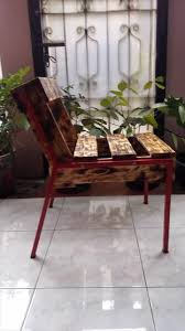 Pallet Furniture Living Room Diy Wooden Pallet Chairs 99 Pallets