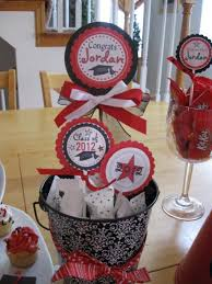 Homemade Graduation Party Centerpieces by 171 Best Party Ideas Graduation Images On Pinterest
