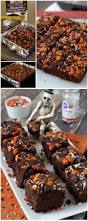 halloween pumpkin brownies recipe easy halloween brownies and