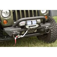 Rugged Ridge 8500 Winch Xhdawmck Front Xhd Aluminum Winch Mount Front Bumper System
