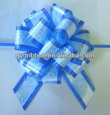 handmade bows sp handmade blue pull bow ribbon plastic ribbon pull bow for