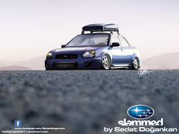 stanced subaru slammed subaru wrx sti by sedatgraphic2011 on deviantart