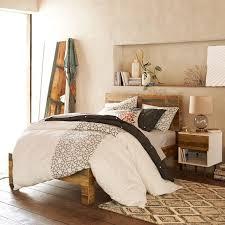 emmerson reclaimed wood bed natural west elm