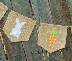 Easter Decorations Bunting by New Happy Easter Banner For Easter Bunny Rabbit Party