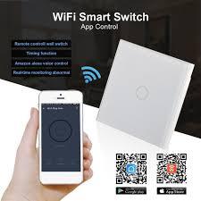timer light switch amazon wifi smart touch switch timer diy wireless light wall switch app